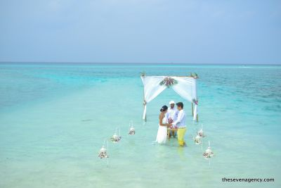 Lagoon wedding