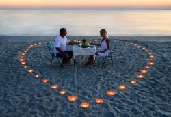 Dinner Program Romantic Dinner on Beach