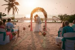 Wedding venue Zeebop beach