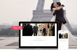Additional components Your own wedding website