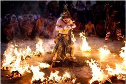 Entertainment for reception Kecak tarditional perfomance