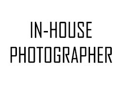 Photography In-house photographer