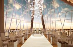 Wedding venue Pearl Chapel at Samabe