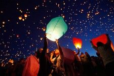 Add-ons for dinner Sky lanterns