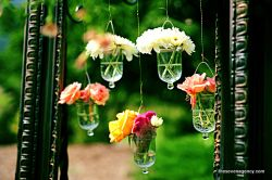 additional decorations Hanging flowers