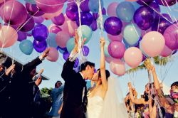 add-ons for ceremony Helium baloons