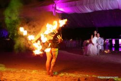 add-ons for ceremony Fire show